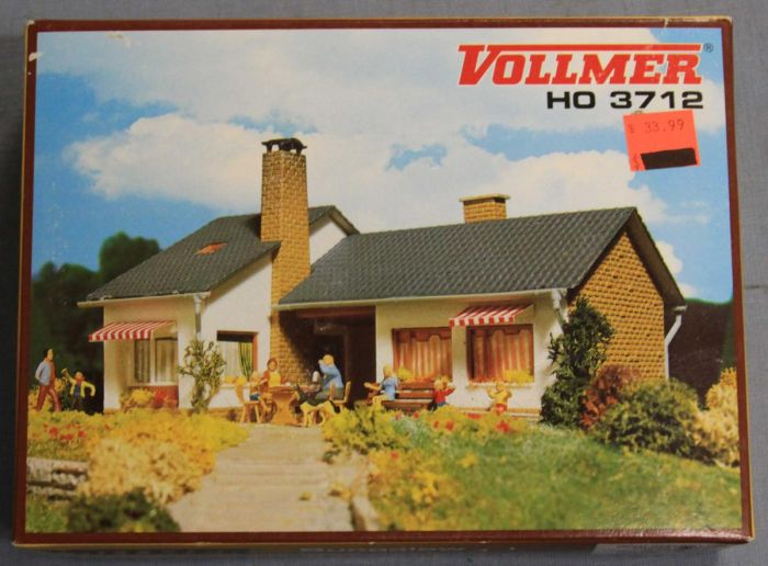 Vollmer 3712 Ho Scale Bungalow Ranch Style House Building